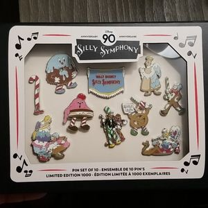 Disney 90th Anniversary Limited Edition Pin Set